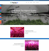 LED GROW LIGHTS Website Earn £41 A SALE|FREE Domain|FREE Hosting|FREE Traffic