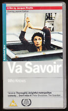 VA SAVOIR (WHO KNOWS) - FRENCH COMEDY - VHS PAL (UK) VIDEO - RARE