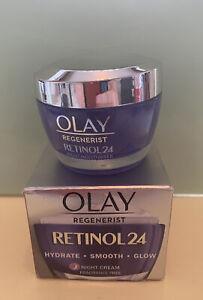 Olay Regenerist Retinol24 Night Face Moisturiser, 50ml, New