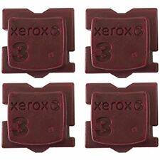"MAGENTA GENUINE XEROX ColorQube 8570/8580 OEM INK ""4 PACK"" 108R00927"
