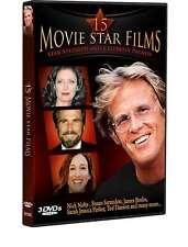 15 Movie Star Films, New DVD, Sally Field, Anthony Hopkins, Tom Selleck, John Li
