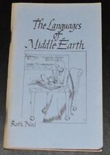 The Languages of Middle Earth by Ruth Noel * 1974 Mirage First Edition Scarce