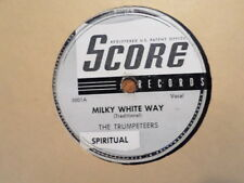 SCORE 78 RECORD 5001/TRUMPETEERS/HANDWRITING ON THE WALL/MILKY WHITE WAY/VG MINU