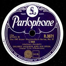CHUBBY JACKSON & HIS ORCHESTRA  L'Ana / 'Mom' Jackson  -Modern Jazz- 78rpm  X914