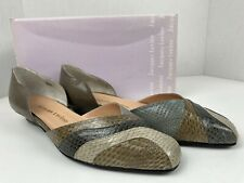 Vintage Jacques Levine Taupe Multi Snake 2590s Size 8 Aa See Photos