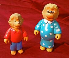 Berenstain Bears Happy Meal Toys ft. Mama Bear and Brother Bear (1986)