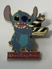 Vintage Disney LILO & Stitch With Clapboard Pin Trading 2004 Pin Badge