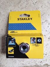 Stanley Heavy Duty Twist Knot 65mm Wire Cup Brush for Angle Grinders.
