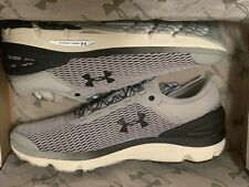 Under Armour Men's Charged Intake 3 Running Shoes Black/White Size 12.5