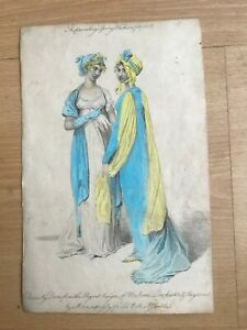 vintage etching fashion print