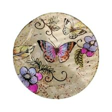 Deko-teller Schmetterling Glas Kerzenteller Süßigkeitenschale 871237 Formano