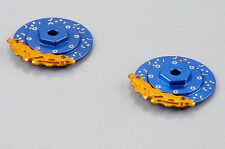 1/10 Aluminum SCALE DISK ROTORS W/ CALIPER Scale Accessories  (4) Pcs Set