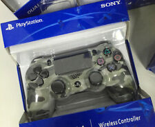 OFFICIAL SONY PS4 DUALSHOCK 4 WIRELESS CONTROLLER - NEW & SEALED Grey Camo UK
