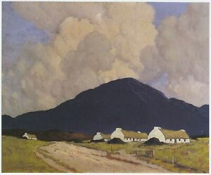 In Connemara, Paul Henry print in 10 x 12 inch mount ready to frame SUPERB