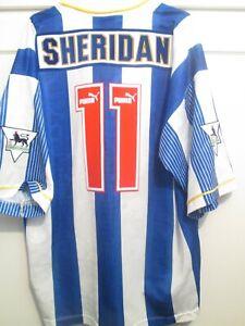 Sheffield Wednesday 1994-1995 Home John Sheridan Football Shirt Size XL 48159