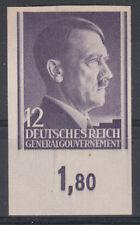 Postfrische Briefmarken aus dem Generalgouvernement (bis 1945) als Einzelmarke