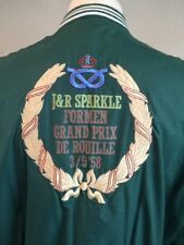 Rare VTG 1950s Jacket with Embroidered Wreath for Grand Prix De Rouille 3/9 '58