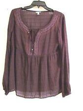 NWT Sonoma Kohls Casual Long Sleeve Top Blouse Ladies UPC 886680007702 Value $40