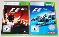 2 GIOCHI XBOX 360 Bundle-f1 2011 & f1 2012-Formula One RACING FORMULA UNO