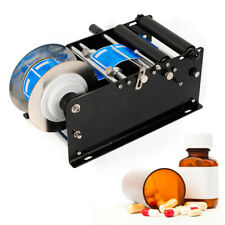 Labeling Machine Manual Semi Automatic Round Bottle Packing Machine By Hand
