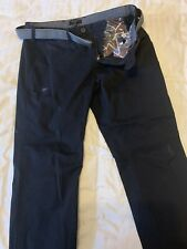 Tee Baker Chinos And Belt 34R