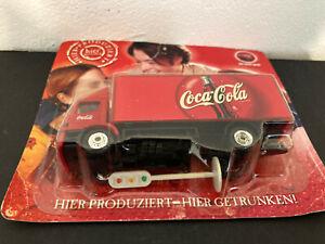 Coca-cola 1/87 miniature Grell Camion de livraison dans son blister d'origine