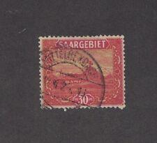 Saar 108 -  Stag Pile At Volklingen.  Used.    #02 SAAR108a