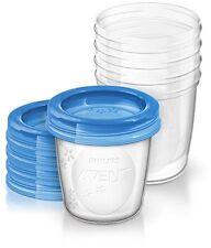 Philips Avent Aufbewahrungssystem für Babynahrung 5x 240 ml inklusive Deckel