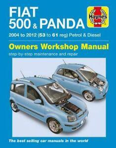 FIAT 500 & PANDA 2004 to 2012 Haynes Manual