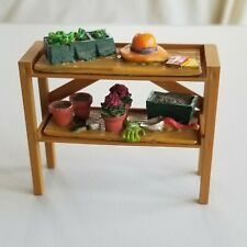 Lemax #02828 Potting Bench Retired No Box Mint