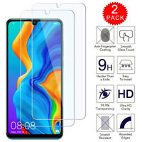 For Huawei Honor 20 Lite - Clear HD Tempered Glass Screen Protector [2-Pack]