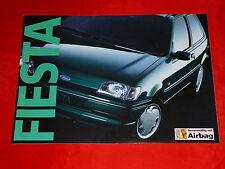 FORD Fiesta Basis Fun Family Calypso Futura Prospekt von 1994