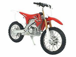 HONDA CRF450  Motocross Bike MOTOCROSS Motorbike -MAISTO Model Toy Scale 1:18