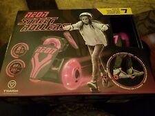 Neon Street Rollers Pink Led Adjustable Roller Skates Light Up Wheels