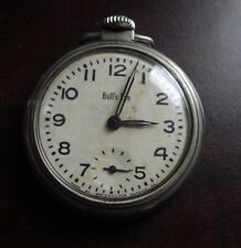 Vintage 1950s Westclox Bull's Eye Pocket Watch Working