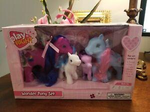 "My Little Pony ""Fakie"" - Play Right Wonder Pony Set from Walgreens"