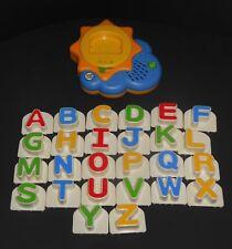Complete Leap Frog Fridge Phonics Sun Magnetic Upper Case Letters Alphabet Set