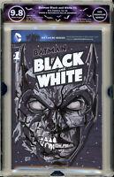 🔥 Batman 1 Black & White EGS SS 9.8 not cgc Original art signed harley joker