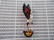 Hard Rock Cafe Madrid - Gracius Dancing Crane / Heron Bird on HRC Logo - NEW Pin