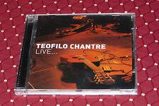 "CD TEOFILO CHANTRE ""LIVE..."" 13 TITRES / LUSAFRICA, 2002"