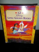 """Disney """"Little Golden Books"""" Set of 12 Books"""