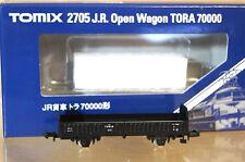 TOMIX 2705 JR ouvert WAGON TORA 70000 neuf dans sa boîte U