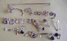 60New Flute  repair parts Nickel - plated keys