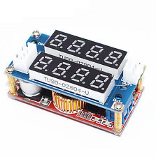 5A CC/CV Adjustable Display Step Down Charge Module LED Panel Voltmeter Ammeter