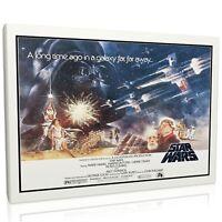 Star Wars Classic 002 Framed Canvas Print