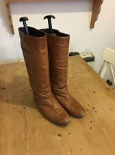 Vintage Tan Leather Boots Uk6 Riding Boots?