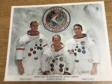 Vintage APOLLO 15 Autographed Signed NASA Issued 8x10 Photo - SOLD as AUTOPEN