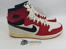 Nike Air Jordan 1 I Retro KO HI White/Black-Varsity Red 402297 101 Sz 13 2010