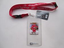 DETROIT RED WINGS LANYARD WITH TICKET HOLDER PLUS COLLECTIBLE PLAYER CARD