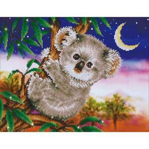 "Diamond Dotz Diamond Embroidery Facet Art Kit 22""X17.75""  Koala Snack DD7012"